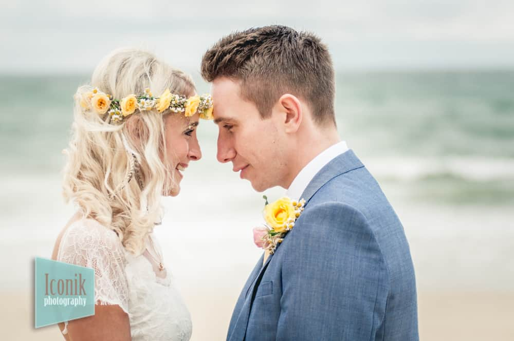 Beach Wedding Photography in Cornwall