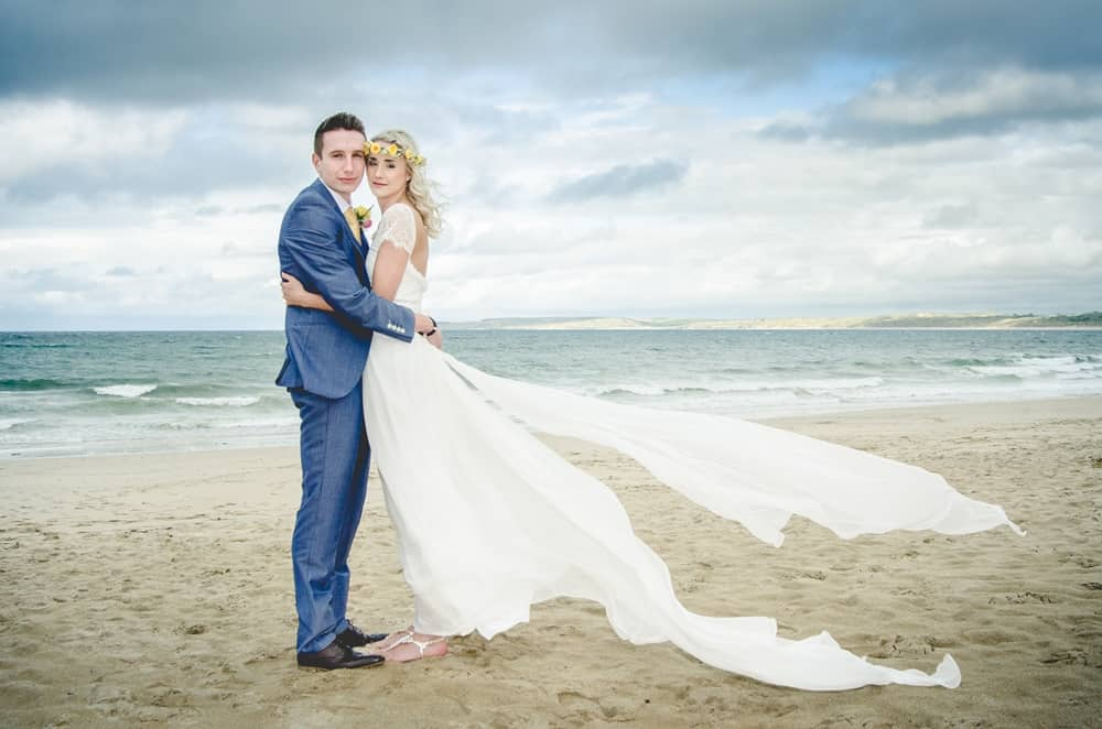 Wedding Photography in Cornwall - Carbis Bay Beach