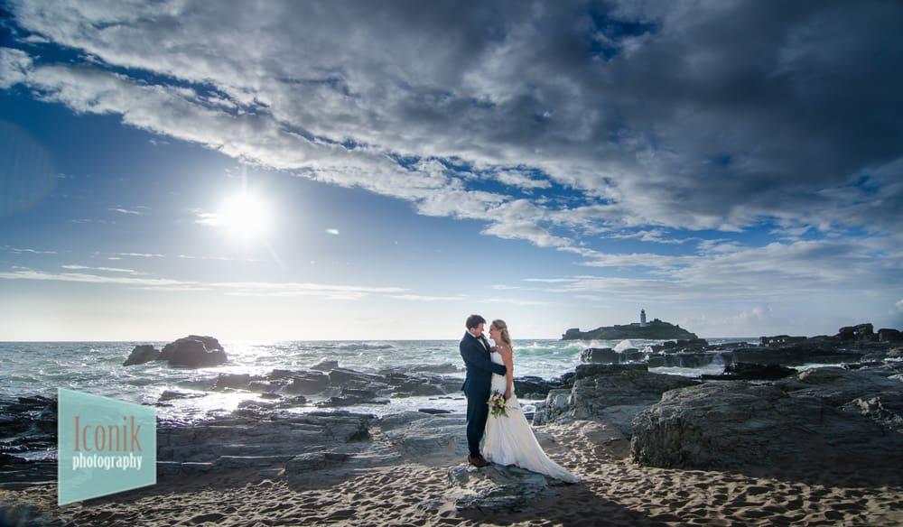 Godrevy Wedding Photography in Cornwall