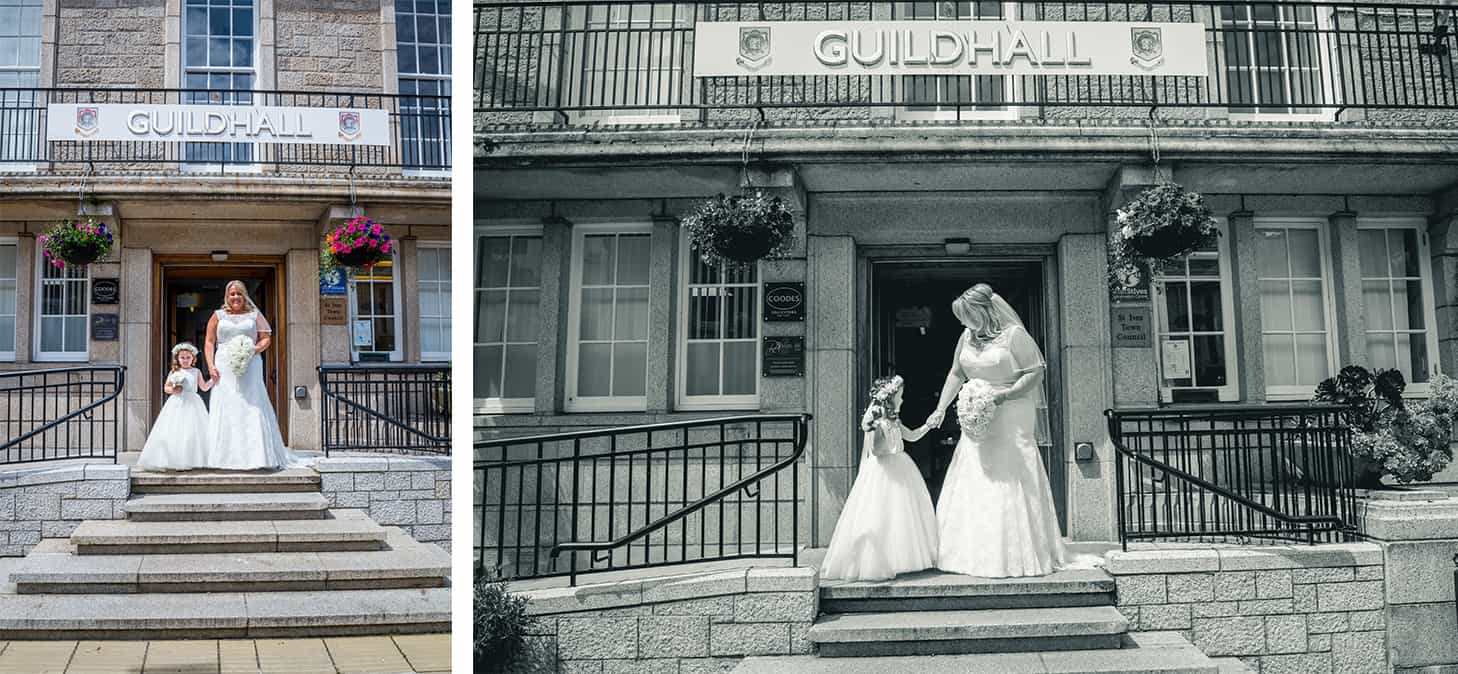 Wedding Photography in Cornwall - St Ives Guildhall