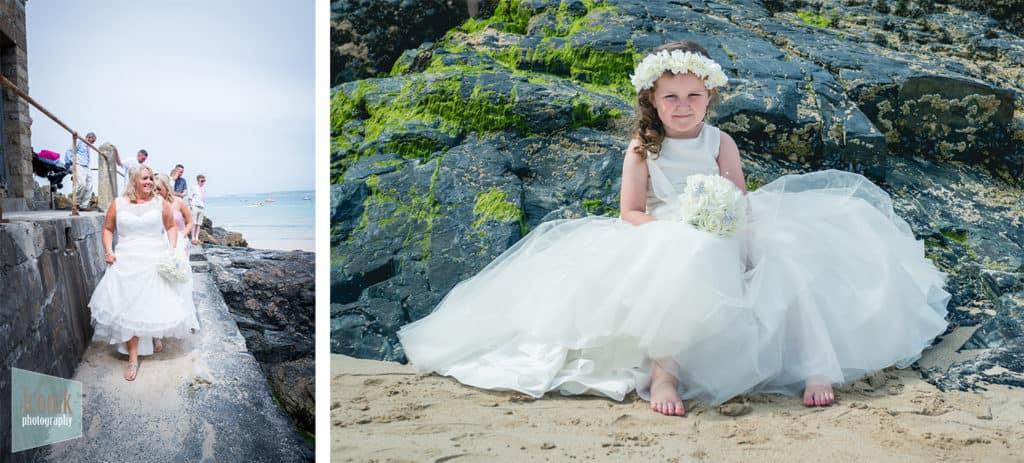 Wedding Photographer in Cornwall - St Ives Porthminster Beach