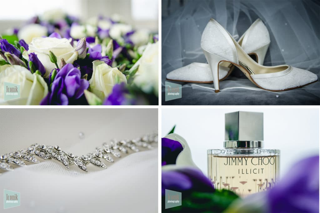 bridal flowers at the carbis bay hotel - Cornwall Wedding Photographer