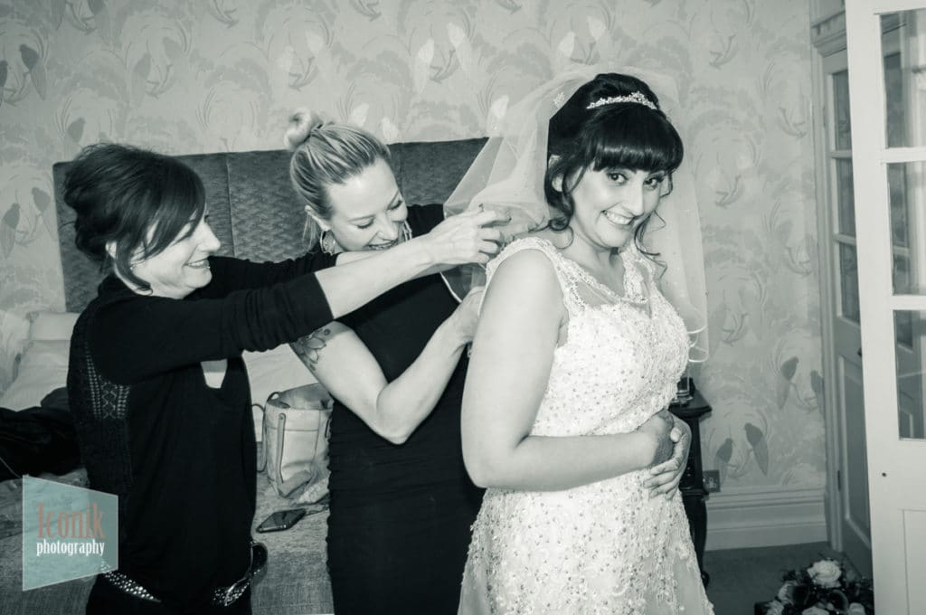 wedding photography at the carbis bay hotel