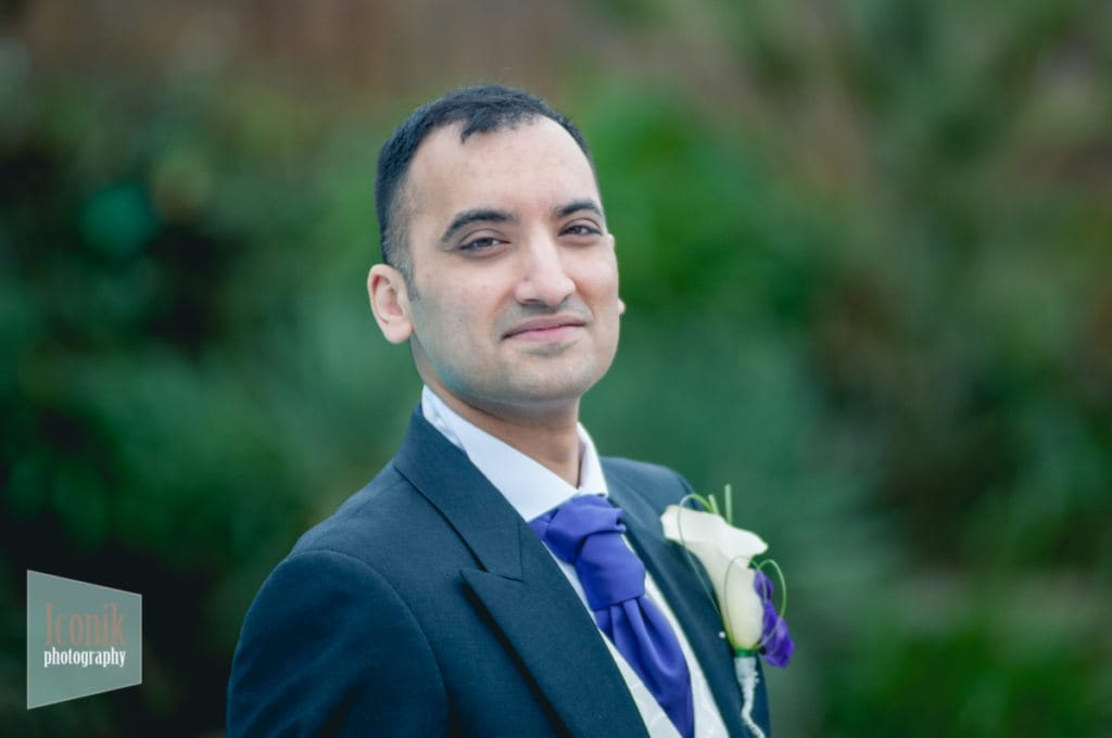 Groom at the carbis bay hotel - Wedding Photographer in Cornwall