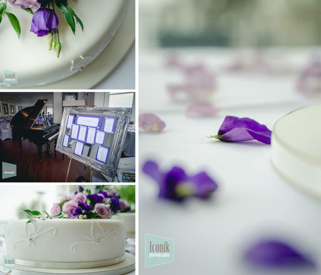 wedding reception at the carbis bay hotel  - Cornwall wedding Photography