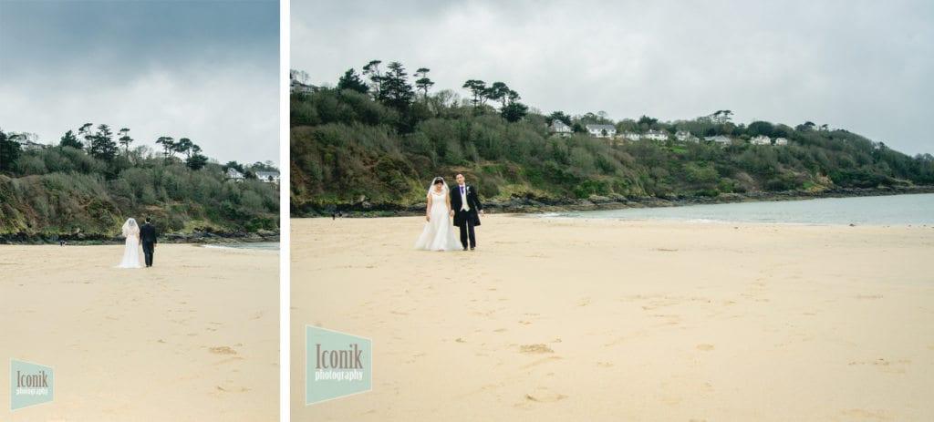 carbis bay beach wedding photography